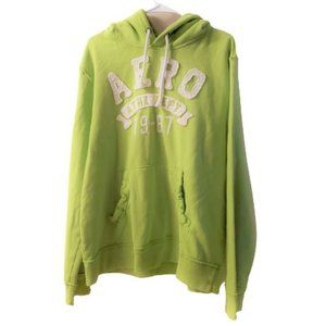Aeropostale XL Men Sweater Lime green